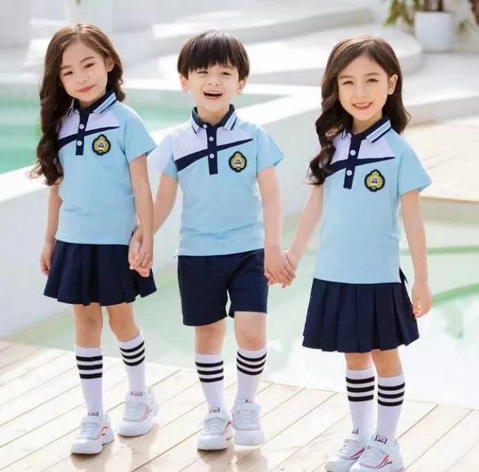 小学生夏季校服定制
